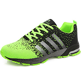 Men's Comfort Shoes Tulle Summer / Fall Athletic Shoes Running Shoes Green / Red / Blue / Lace-up Category:Athletic Shoes; Upper Materials:Tulle; Embellishment:Lace-up; Season:Fall,Summer; Gender:Men's; Activity:Running Shoes; Outsole Materials:TR; Occasion:Outdoor,Athletic; Shipping Weight:0.73; Listing Date:09/29/2017; 2019 Trends:Comfort Shoes; Foot Length:; SizeChart1_ID:2:363036; Size chart date source:Provided by Supplier.; Base Categories:Men's Shoes,Shoes,Apparel  Accessories; Popular Country:United Kingdom,United States; Special selected products:Clearance