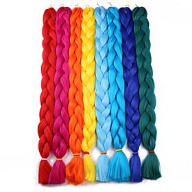 Braiding Hair Crochet Jumbo Synthetic Hair 1pc / pack Hair Braids Long 100% kanekalon hair 6199262