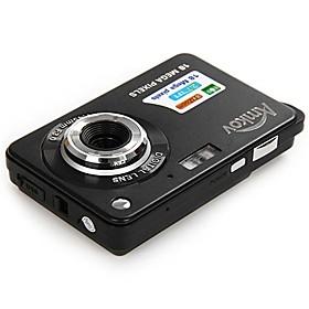AMKOV Digital Camera DC3 2.7 Inch TFT HD Screen 18.0MP Anti-shake Digital Video Camera with 8X Digital Zoom