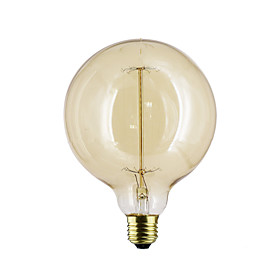E27 G125 40W Straight Bulb Wire Bulb Bulb Edison G125 Retro Decorative Bulbs
