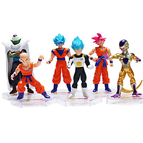 Sun WuKong Novelty Son Goku Action  Toy Figures Anime  Manga Plastic Men's Girls' Boys' Gift 4830097