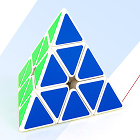Rubik's Cube MoYu Pyramid Smooth Speed Cube Magic Cube / Stress Reliever / Educational Toy Puzzle Cube Smooth Sticker Gift Unisex 6063947