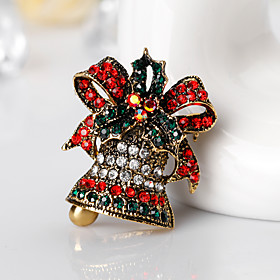 Women's Brooches - Brooch Gold / Silver For Christmas / Gift