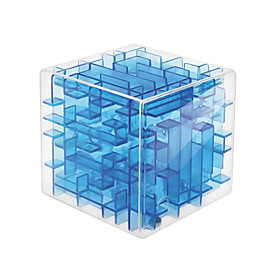 Magic Cube 3D Maze Puzzle Box Toys Creative Convenient Fun Fashion Friends Square Shaped 3D Cubic Twist 1 Pieces Kids Adults' Gift