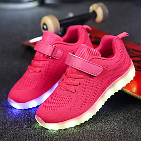 Boys' Net / Fabric Athletic Shoes Little Kids(4-7ys) / Big Kids(7years ) Comfort / Light Up Shoes Magic Tape / LED Dark Blue / Gray / Pink Fall / EU37 Category:Athletic Shoes; Upper Materials:Fabric,Net; Embellishment:LED,Magic Tape; Season:Fall; Gender:Boys'; Range:EU37; Style:Light Up Shoes,Comfort; Occasion:Outdoor,Casual; Age Group:Little Kids(4-7ys),Big Kids(7years ); Shipping Weight:0.535022; Listing Date:10/12/2017; Foot Length:; SizeChart1_ID:2:372346; Size chart date source:Measured by LightInTheBox.; Base Categories:Kids' Shoes,Shoes,Apparel  Accessories; Popular Country:France,United States,United Kingdom,Denmark; Special selected products:hot,COD