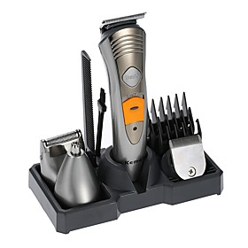 Kemei KM-580A Electric Shaver Razor 7 in 1 Shaver Machine Nose Ear Hair Trimmer Electric Clipper Rechargeable Afeitadora Men's Personal Care Epilator 6279711