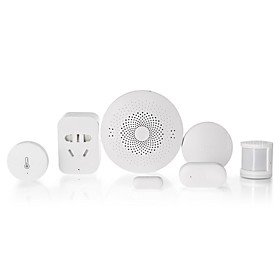 Xiaomi Mijia 6 In 1 Smart Home Security Kit Wireless Switch/window Door Sensor/human Body Sensor/temperature Humidity Sensor/multi Gateway/outlet