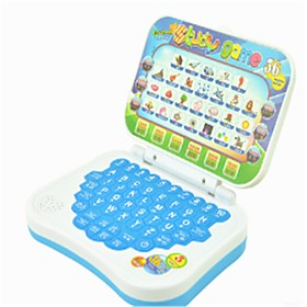 Toy Computer Laptop Educational Toy Characters School / Graduation Music Notes School Lidded Squeak / Squeaking Kid's Boys' Girls' Toy Gift / New Design