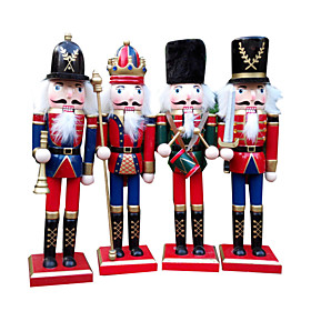 1pc Holidays Greeting Nutcrackers Christmas Party, Holiday Decorations Holiday Ornaments