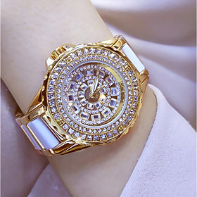 Women's Fashion Watch Simulated Diamond Watch Unique Creative Watch Japanese..