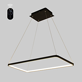 Ecolight™ Linear Pendant Light Ambient Light Painted Finishes Metal Acrylic Bulb Included, Adjustable, Dimmable 110-120V / 220-240V Warm White / White Bulb Inc
