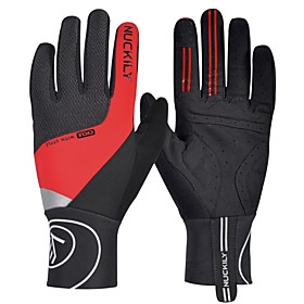 Nuckily Sports Gloves Touch Gloves Bike Gloves / Cycling Gloves Winter Gloves Keep Warm Reflective Windproof Breathable Stretchy Wicking