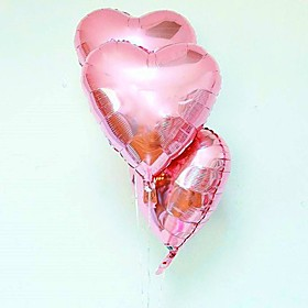 10pcs - 10inch Pink Heart Shaped Balloons Beter Gifts DIY Party Decoration 6396512