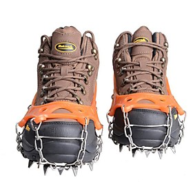Traction Cleats / Crampons Outdoor / Non-Slip Hiking / Climbing / Outdoor Exercise Metal Alloy / Rubber / Metal 17.516.8 cm cm pcs