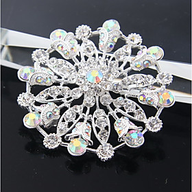 Women's Jewelry Set Brooches Silver Plated Simple Classic Fashion Wedding Da..