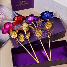 1 Branch Others Roses Tabletop Flower Artificial Flowers