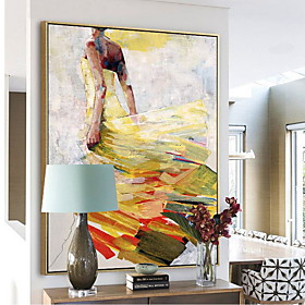 Abstract Oil Painting Wall Art,Alloy Material With Frame For Home Decoration Frame Art Bedroom Dining Room