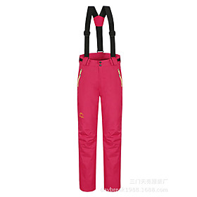 Women's Ski / Snow Pants Waterproof, Thermal / Warm, Windproof Ski / Snowboard / Winter Sports Cotton Pants / Trousers Ski Wear 5465223