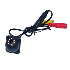 ZIQIAO Car Rear View Reversing Camera Waterproof Reverse Camera 8-Eye Strong LED Light
