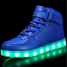 Boys' Shoes Customized Materials / Leatherette Spring  Summer Comfort / Light Up Shoes Sneakers / Flats / Fashion Sneakers Casual /