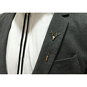 Men's Brooches - Animal Vintage Brooch Gold / Silver For Party / Ceremony