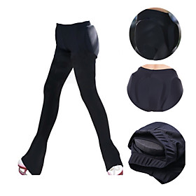 Figure Skating Pants Men's / Women's Ice Skating Pants / Trousers Black / Purple Spandex Training / Competition Skating Wear Graphic Long Pant Ice Skating / Mu