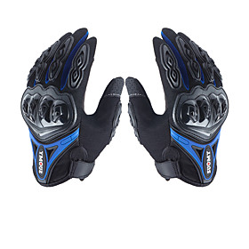 su0my su-10 motorcycle gloves wateproof anti-slip full finger nylon material 6549697