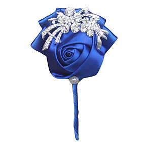 Wedding Flowers Boutonnieres Wedding Event/Party Satin 3.94