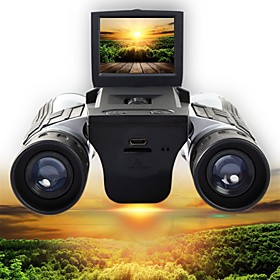 12 X 32 mm Binoculars Digital Camera 2'' LCD Display 1080P High Definition with Video Photo Recorder Support 32G TF Card USB Observing Wildlife Bird W