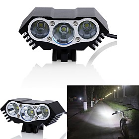 LED Bike Light Front Bike Light Headlight LED Mountain Bike MTB Cycling Waterproof Multiple Modes 18650 3000 lm DC Powered Cycling / Bike / IPX-5