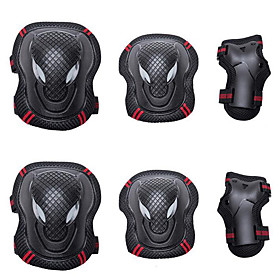 Knee Pads  Elbow Pads  Wrist Pads for Inline Skates / Hoverboard / Roller Skates Breathable / Protective 6 pack