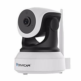 VStarcam C7824WIP 1.0 MP Indoor with IR-cut Prime 128(Day Night Motion Detection Dual Stream Remote Access Plug and play IR-cut) IP Camera