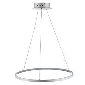 Ecolight™ 1-Light Circular Pendant Light Ambient Light  Acrylic LED 110-120V / 220-240V with Warm White / White / Dimmable With Remote Control LED Light Source