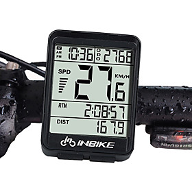 INBIKE IN321 Bike Computer / Bicycle Computer Waterproof / Wireless / Backlight Cycling / Bike / Mountain Bike / MTB / Road Bike Cycling