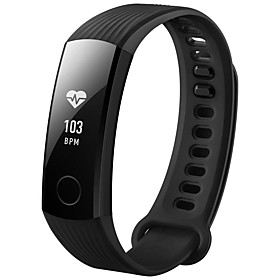 HUAWEI Honor Band 3 Smartwatch 24 Hours Heart Rate Monitor 50 Meters Waterproof Design for Swimming Android iOS