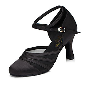 Women's Dance Shoes Synthetic Modern Shoes Heel Cuban Heel Black / Purple / Practice / EU39 Category:Modern Shoes; Upper Materials:Synthetic; Lining Material:Synthetic; Heel Type:Cuban Heel; Gender:Women's; Range:EU39; Style:Heel; Outsole Materials:Patent Leather; Occasion:Party,Practice; Brand:Shall We; Listing Date:05/28/2018; Production mode:Self-produce; Foot Length:; Size chart date source:Provided by Supplier.; Popular Country:France,United States