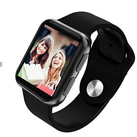 Montre Smart Watch Stsi69 Pour Android Ios Bluetooth Impermeable Moniteur De Frequence Cardiaque Mesure De La Pression Sanguine Ecran Tactile Calories Brulees