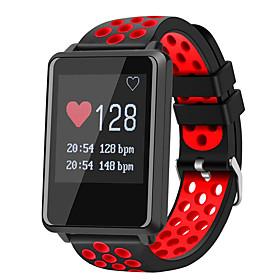 Montre Smart Watch Stf8 Pour Android Ios Bluetooth Impermeable Moniteur De Frequence Cardiaque Mesure De La Pression Sanguine Ecran Tactile Longue Veille Podom