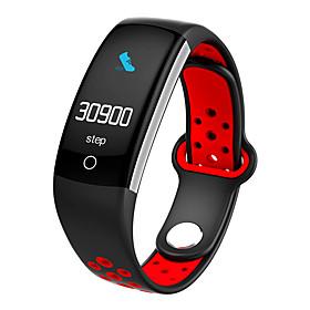Montre Smart Watch Stsq6 Pour Android Ios Bluetooth Impermeable Moniteur De Frequence Cardiaque Mesure De La Pression Sanguine Ecran Tactile Longue Veille Podo