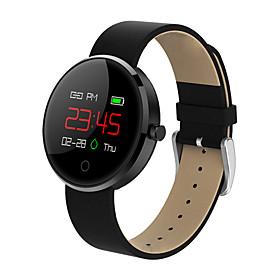 Montre Smart Watch Stdm78 Pour Android Ios Bluetooth Impermeable Moniteur De Frequence Cardiaque Mesure De La Pression Sanguine Ecran Tactile Calories Brulees