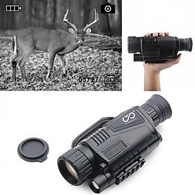 P1-0540 5 X 40 mm mm Night Vision Goggles / Monocular / Infrared Portable / Multi-functional / Handheld Design BAK4 Hunting / Military Night Vision