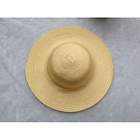 Unisex Work Holiday Straw Hat - Solid Colored 6658431