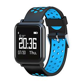 Montre Smart Watch Stsn60 Pour Android Ios Bluetooth Impermeable Moniteur De Frequence Cardiaque Mesure De La Pression Sanguine Ecran Tactile Calories Brulees
