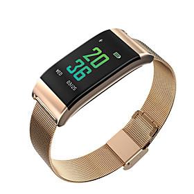 Montre Smart Watch Stsb23 Pour Android Ios Bluetooth Impermeable Moniteur De Frequence Cardiaque Mesure De La Pression Sanguine Ecran Tactile Longue Veille Pod