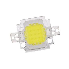 ZDM 10W High Power Integrated LED Natural White / Gold Wire Welding of Copper Bracket(DC9-12V 900uA)