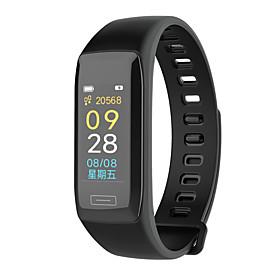 Montre Smart Watch Stsv7 Pour Android Ios Bluetooth Impermeable Moniteur De Frequence Cardiaque Mesure De La Pression Sanguine Ecran Tactile Calories Brulees C