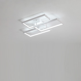 3 Light Flush Mount Ambient Light Painted Finishes Aluminum LED 110 120V / 220 240V Warm White / Cold White LED Light Source Included / LED Integrated