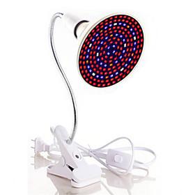 1pc 40 W 1800 lm E26 / E27 Growing Lamp 200 LED Beads SMD 5730 Full Spectrum / Flexible Lamp Holder Clip Warm White / White / Red 85 265 V