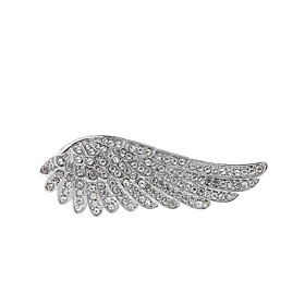 Women's AAA Cubic Zirconia Classic Brooches - Elegant Brooch Silver For Wedd..