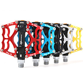 Bike Pedals Cycling / Mountain Bike / MTB / Road Bike Ultra Light (UL) Aluminium Alloy - 2 pcs Silver / Red / Blue